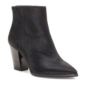 Lucky Brand Adalan 2 Haircalf Leather Bootie Black